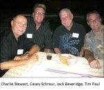 Charlie Stewart, Casey Schreur, Jack Beveridge & Tim Paul 2009 Mini-Reunion