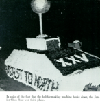 Junior Homecoming Float 1964 Yearbook