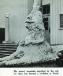 Senior Year Snowman 1965 Yearbook