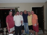 Hanging out in Pinetop: 2011  Buck Buchanan, Earl Clark, Bob Galusha, Charlie Stewart, Paul Baker, JohnNaughton