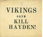Football Support from Vikings?