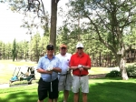 NPHS Invitational in Pinetop Ariz 2011  Paul Baker, Earl Clark, Bucky Buchanan